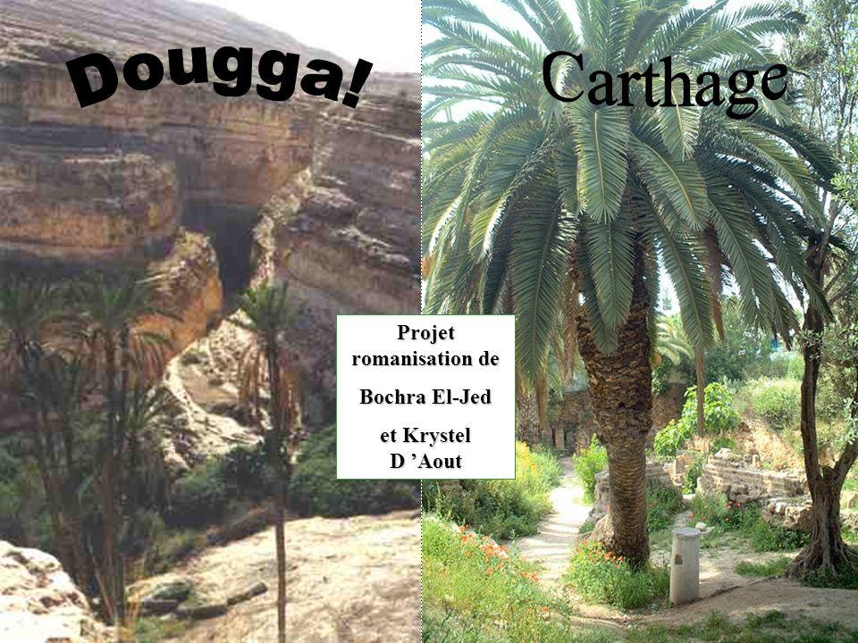 Projet romanisation de Bochra El-Jed et Krystel D Aout