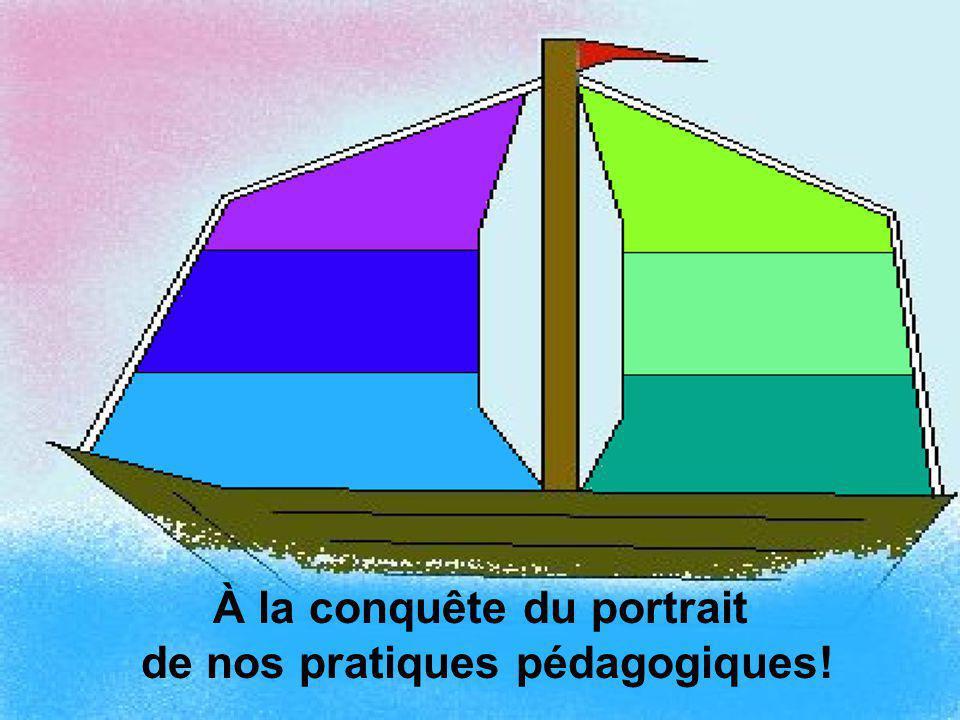 À la conquête du portrait de nos pratiques pédagogiques!