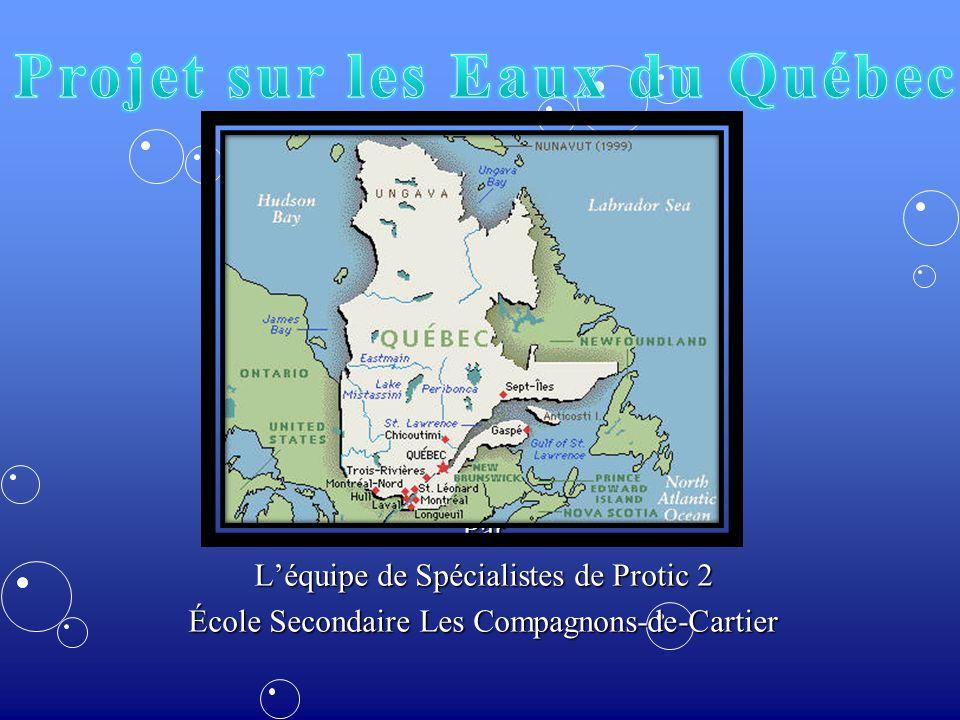 Par Léquipe de Spécialistes de Protic 2 École Secondaire Les Compagnons-de-Cartier