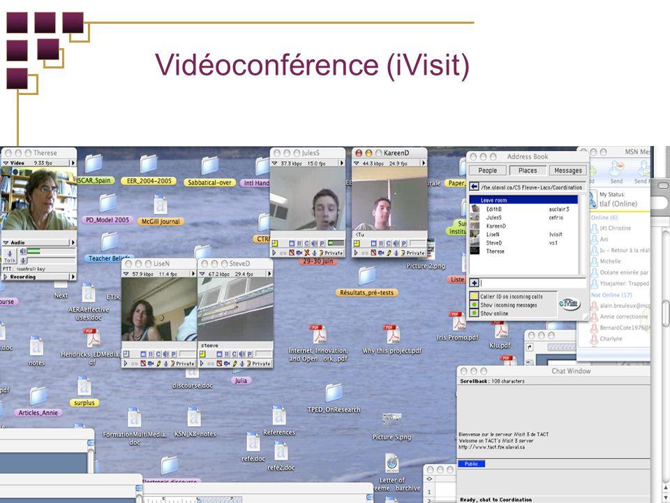 Vidéoconférence (iVisit)