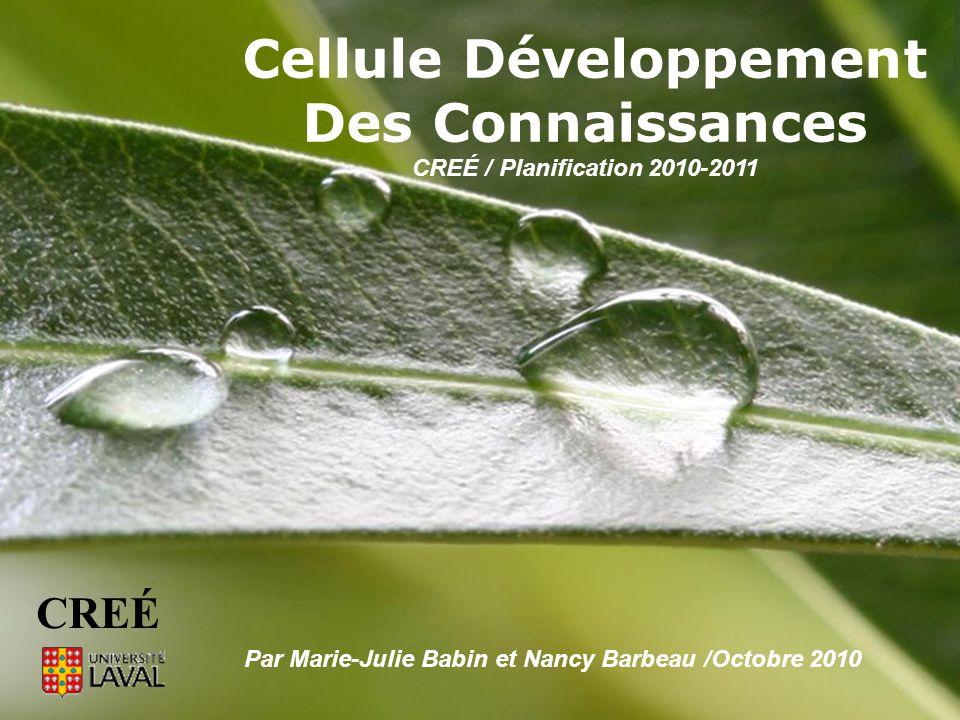 Powerpoint TemplatesPage 1Powerpoint Templates Cellule Développement Des Connaissances CREÉ / Planification 2010-2011 Par Marie-Julie Babin et Nancy B