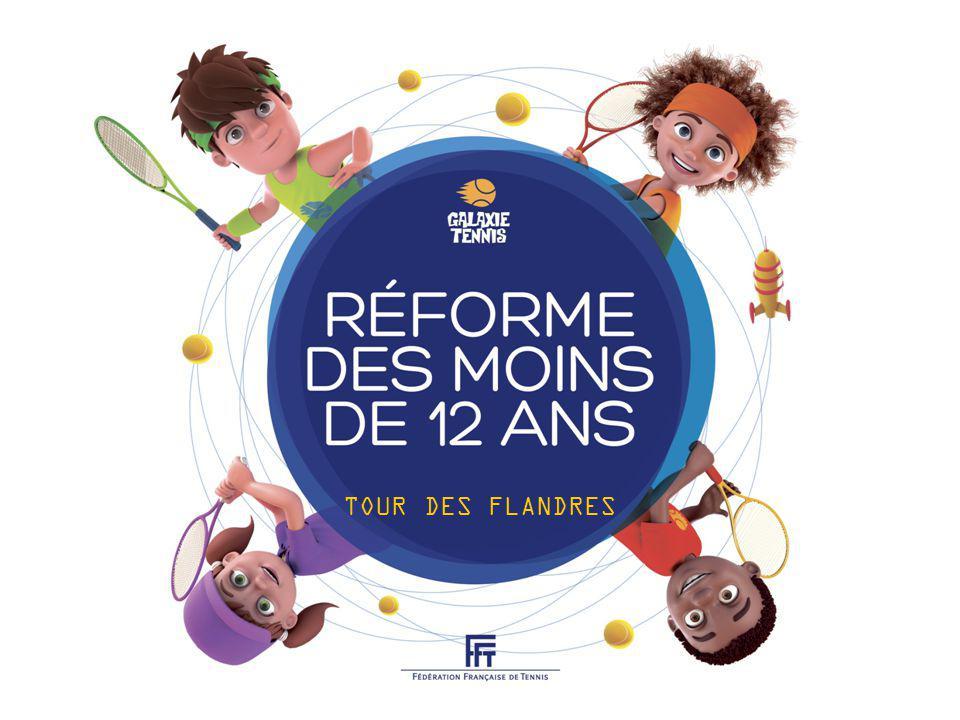 22 - FFT LES TERRAINS / LE MATÉRIEL Raquette : 56 à 63cm 22 à 25 FILET 80cm