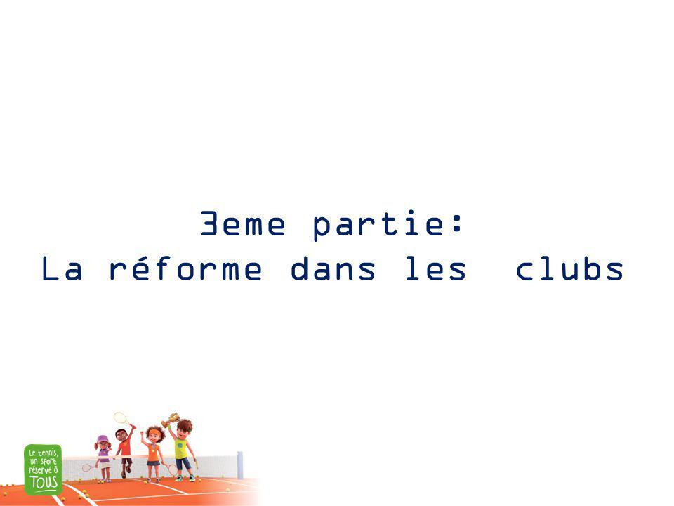 3eme partie: La réforme dans les clubs