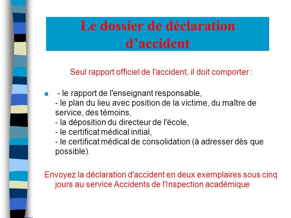 Une précaution supplémentaire n Le Contrat détablissement Certaines assurances (notamment les partenaires habituels des élèves et des enseignants) proposent des contrats pour les établissements scolaires.