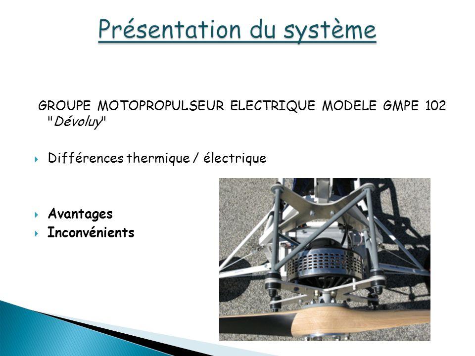 GROUPE MOTOPROPULSEUR ELECTRIQUE MODELE GMPE 102