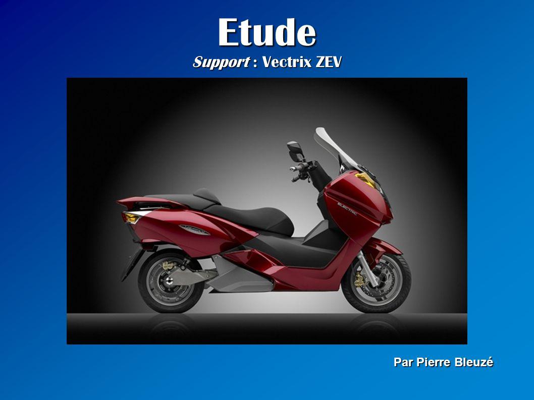 Sommaire 1 - Présentation rapide du constructeur Vectrix 2 - Présentation générale du Vectrix ZEV Electric 3 - Phénomènes physiques 4 - Ses concurrents sur le marché du scooter électrique 5 - Comparatif