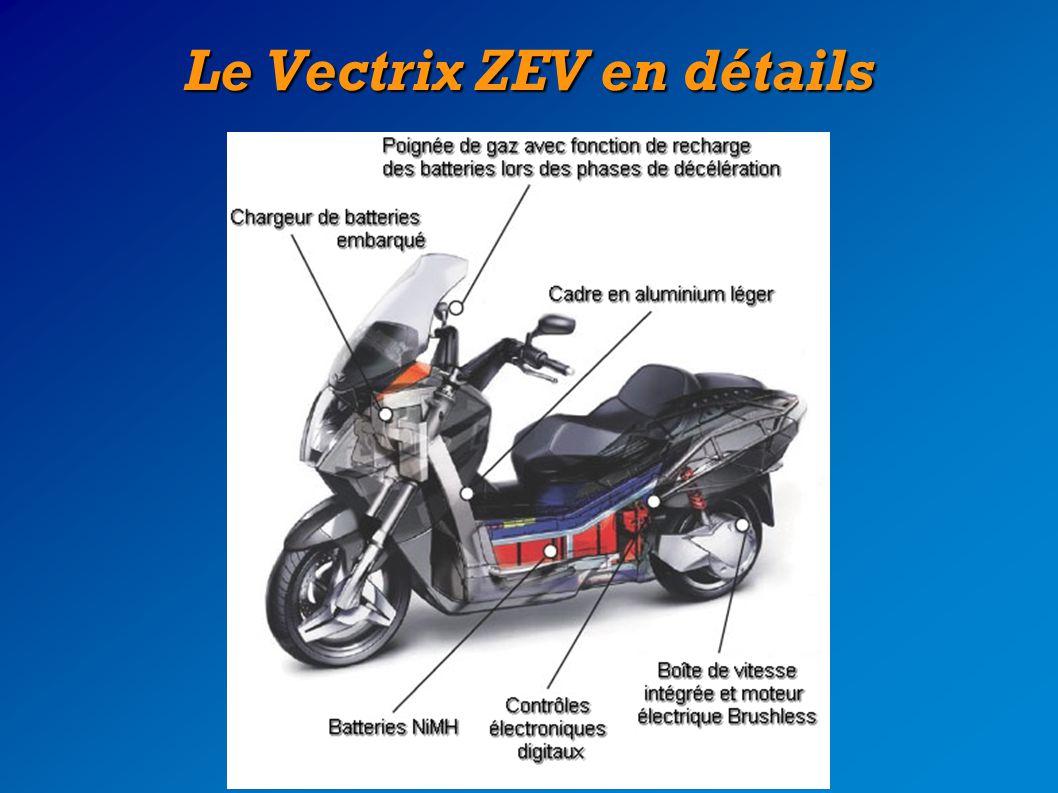 L implantation du moteur Gros plan sur le bras oscillant du Vectrix qui renferme le moteur Brushless La transmission du Vectrix en image : un engrenage planétaire