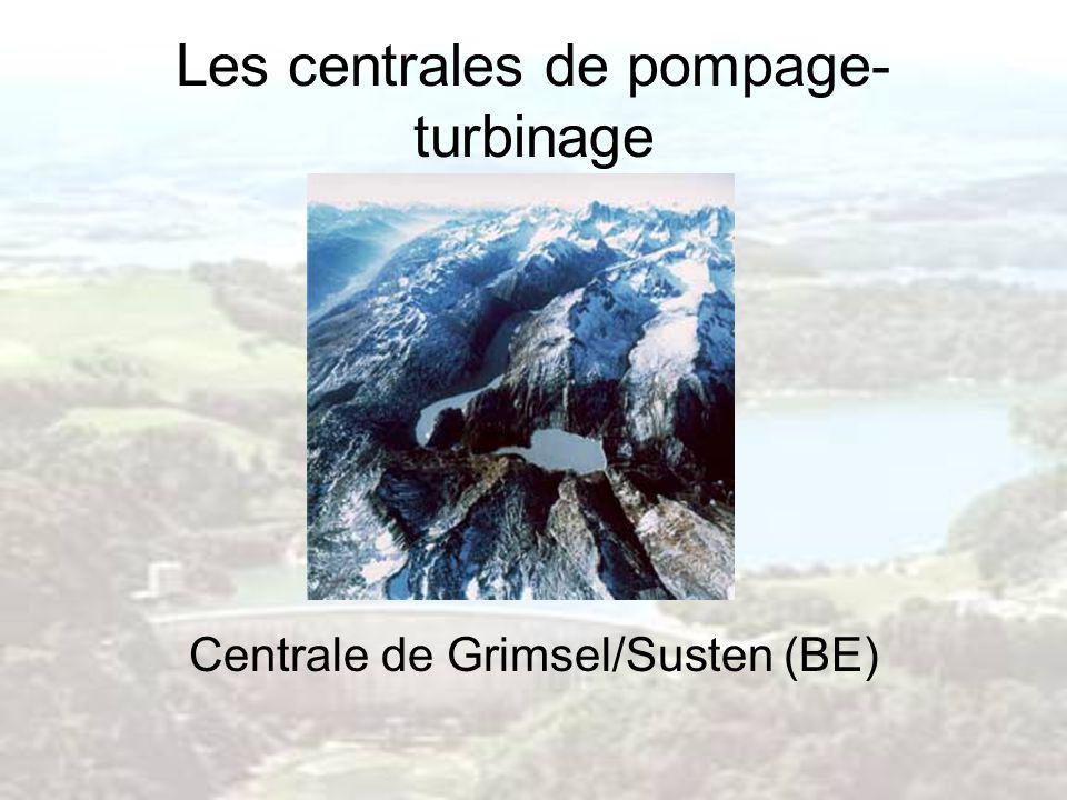 Centrale de Grimsel/Susten (BE)