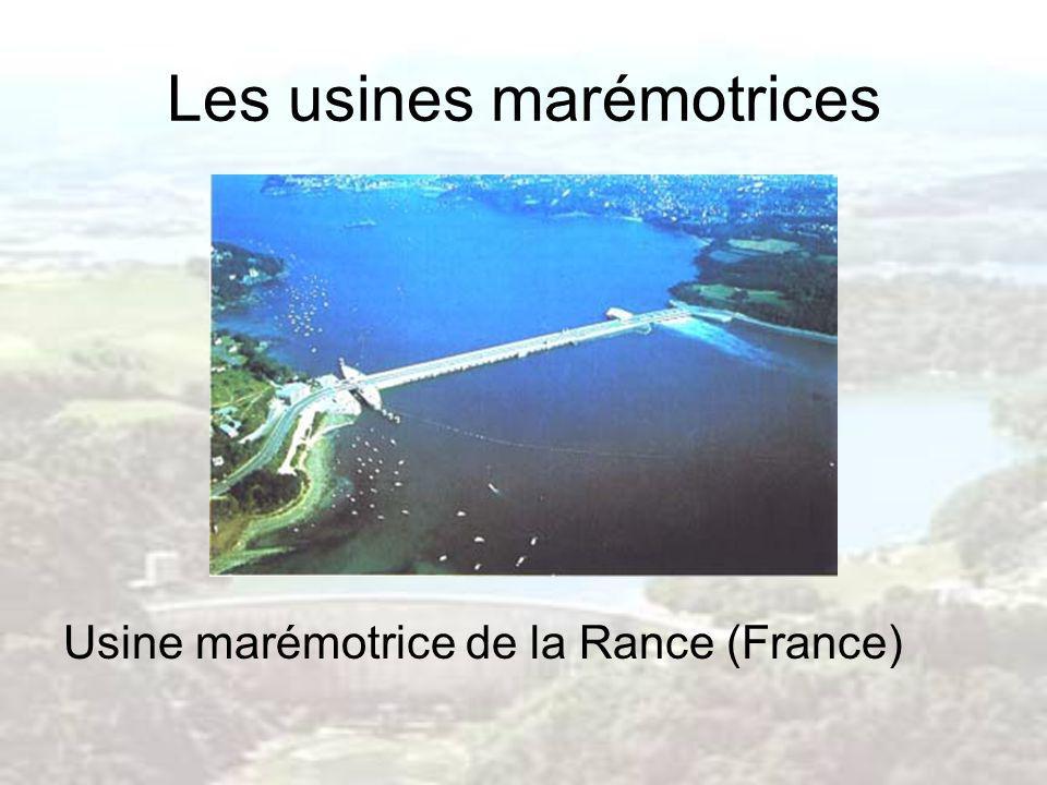 Usine marémotrice de la Rance (France)