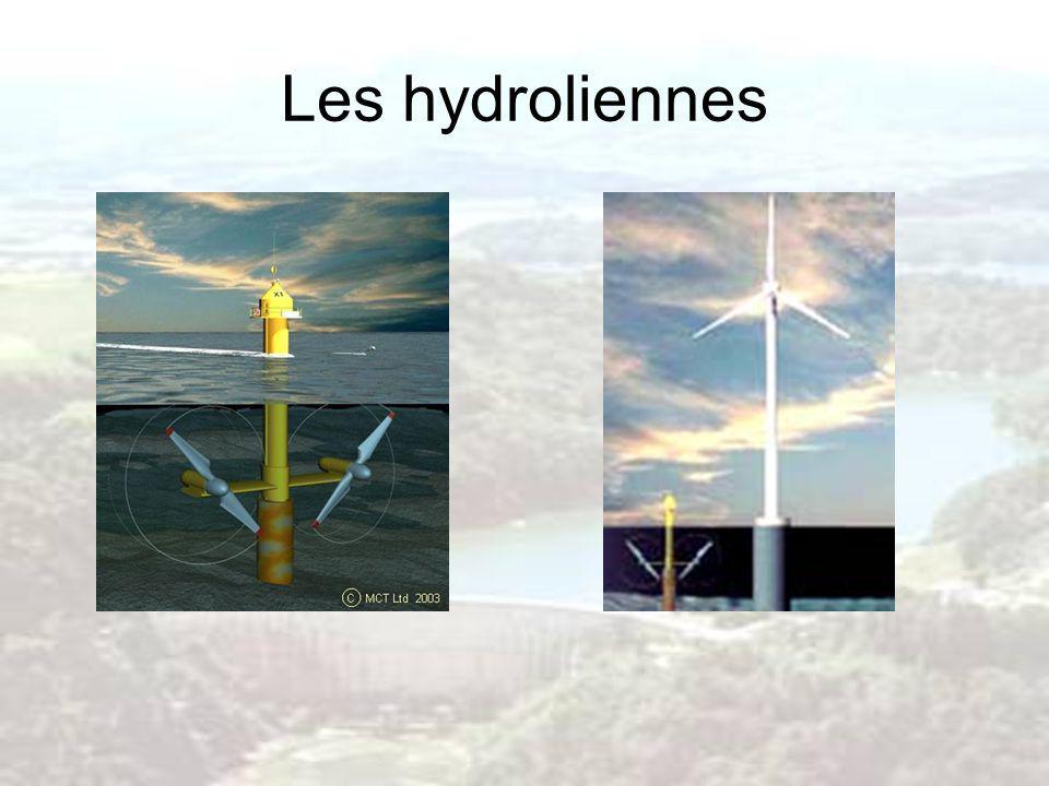 Les hydroliennes
