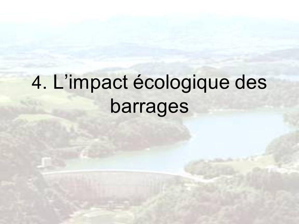 4. Limpact écologique des barrages