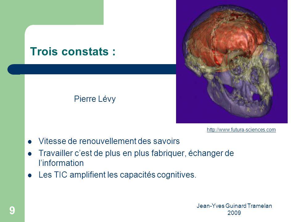 Jean-Yves Guinard Tramelan 2009 10 Maitriser la pédagogie de lApprentissage Ouvert à Distance Reconnaitre et valider les acquis de lexpérience.