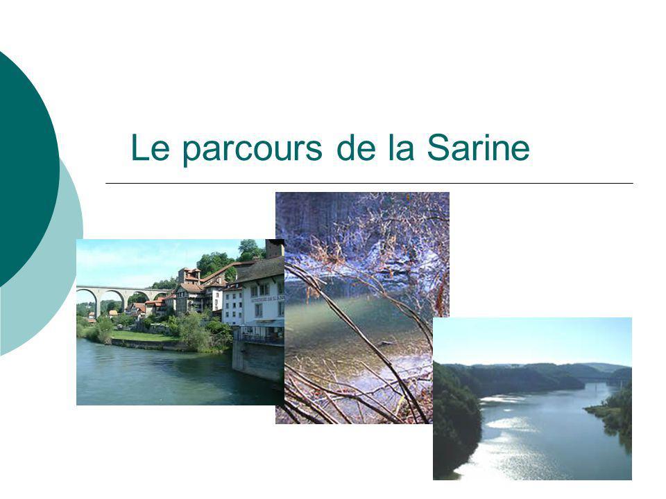 Le parcours de la Sarine