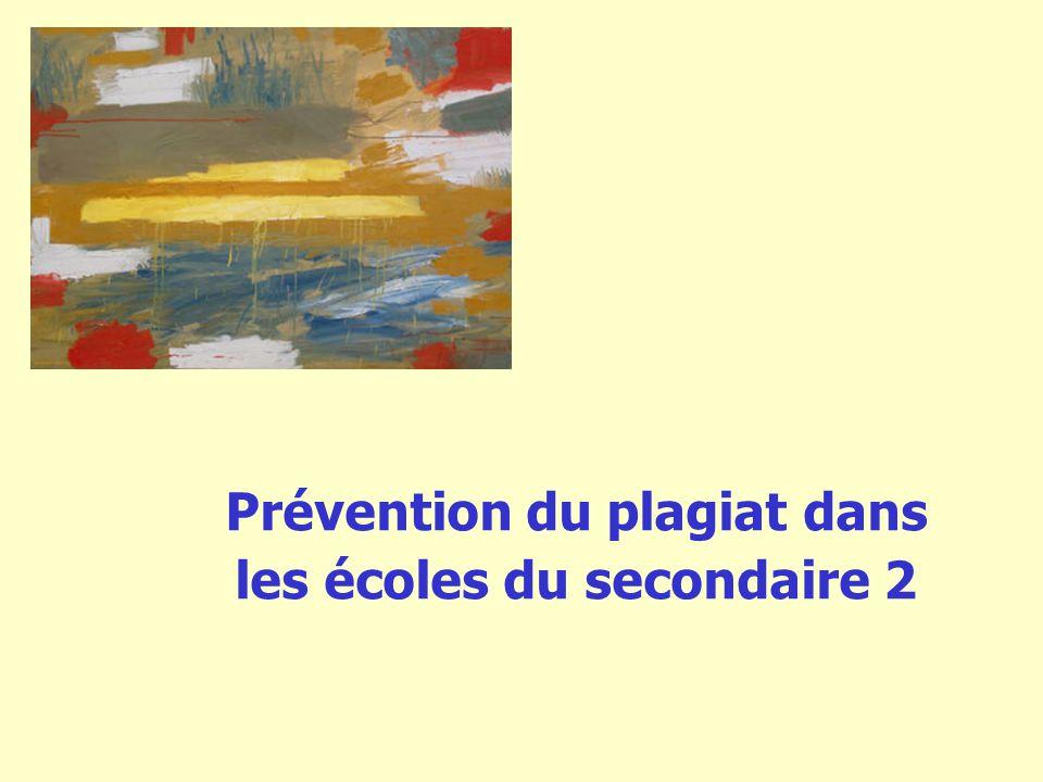 2 Sommaire Qui sommes-nous.La prévention du plagiat est-elle nécessaire.
