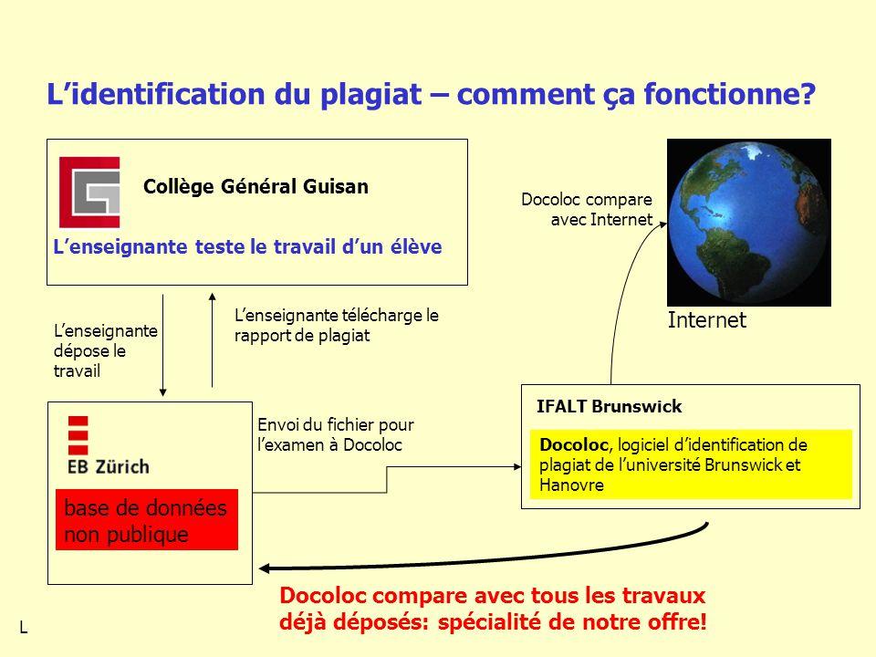 Lidentification du plagiat – comment ça fonctionne.