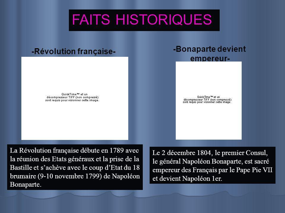 SES CONTEMPORAINS Napoléon 1er (1769-1821) Victor Hugo (1802-1885) Alexandre Dumas (1802-1870)