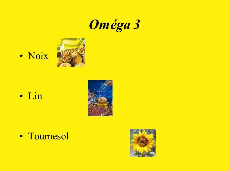 Oméga 3 Noix Lin Tournesol