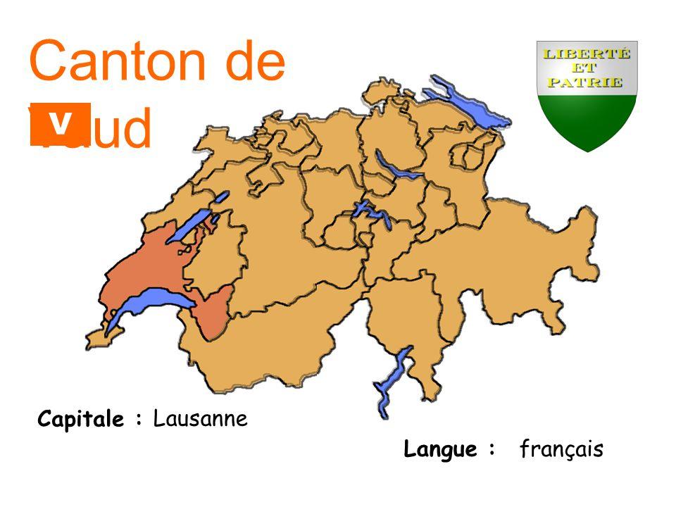 Capitale : Langue : Zoug allemand Canton de Zoug ZG