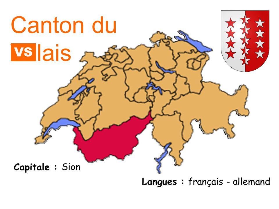Capitale : Langue : Delémont français Canton du Jura JU