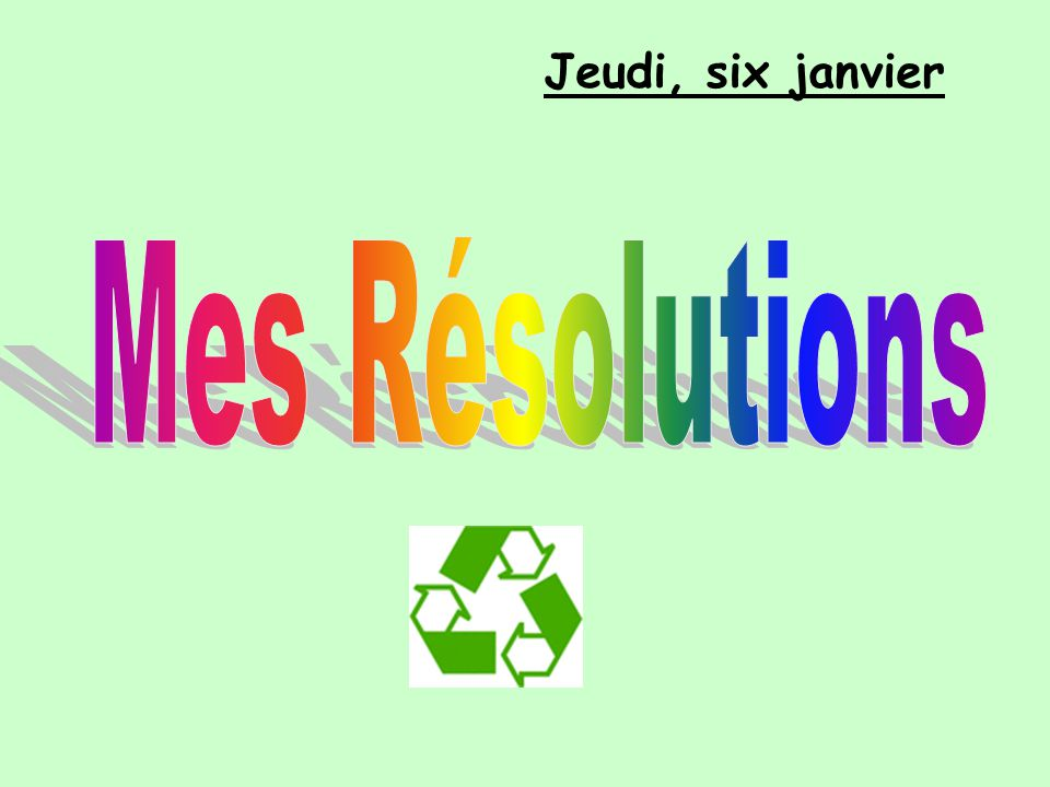 Objéctifs pédagogiques: I know the words for actions to help the environment.