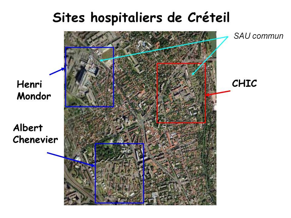 Environnement Hospitalier et Universitaire CHIC = GCS.