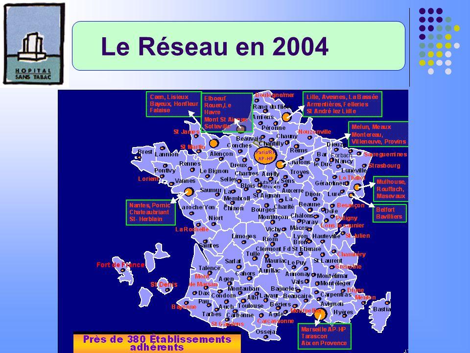 Le Réseau en 2004