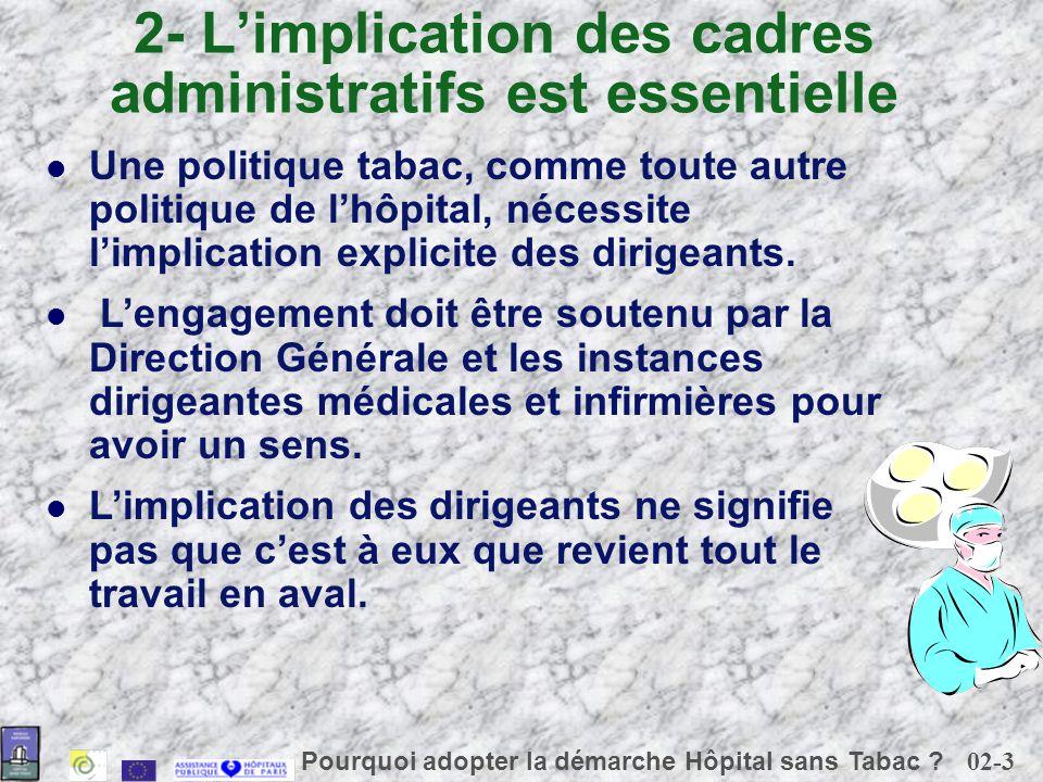 02-3 Pourquoi adopter la démarche Hôpital sans Tabac .