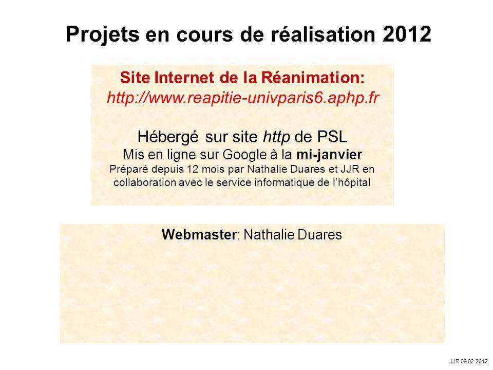 Webmaster: Nathalie Duares Attractif, évolutif (linterview du mois), rendant accessibles lenseignement (mis en ligne des diaporamas denseignement) et