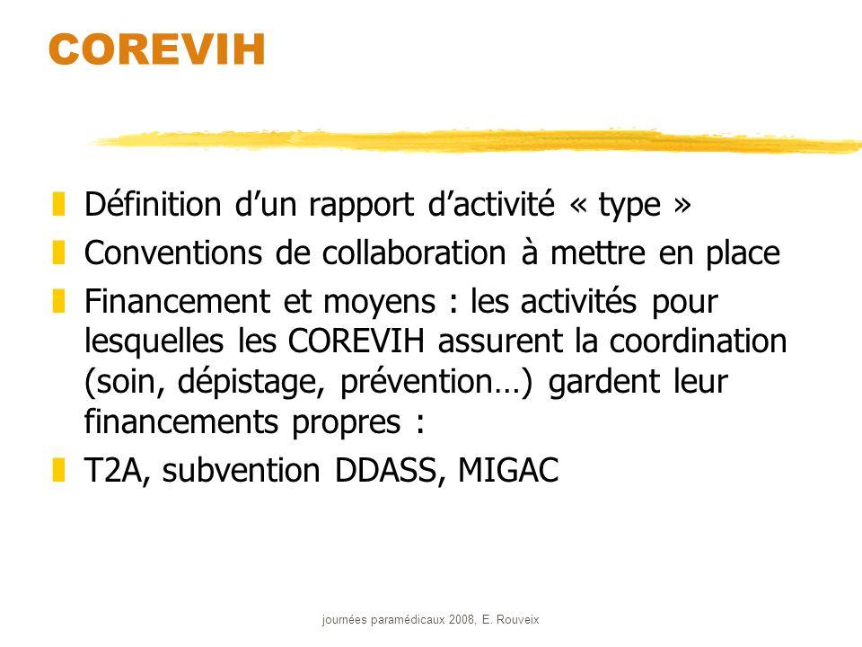 journées paramédicaux 2008, E.