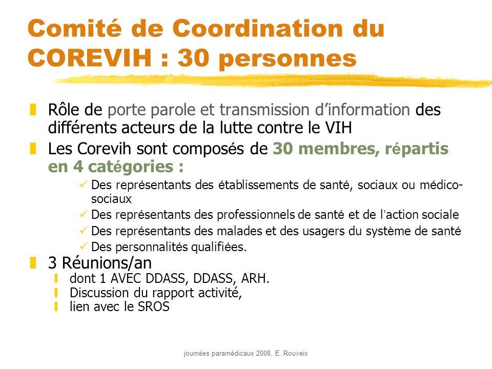 journées paramédicaux 2008, E. Rouveix