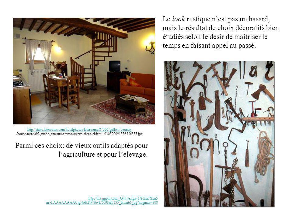 http://static.laterooms.com/hotelphotos/laterooms/87226/gallery/country http://static.laterooms.com/hotelphotos/laterooms/87226/gallery/country -house-torre-del-guado-ginestra-arezzo-arezzo-siena-chianti_030320091356556835.jpg Le look rustique nest pas un hasard, mais le résultat de choix décoratifs bien étudiés selon le désir de maitriser le temps en faisant appel au passé.