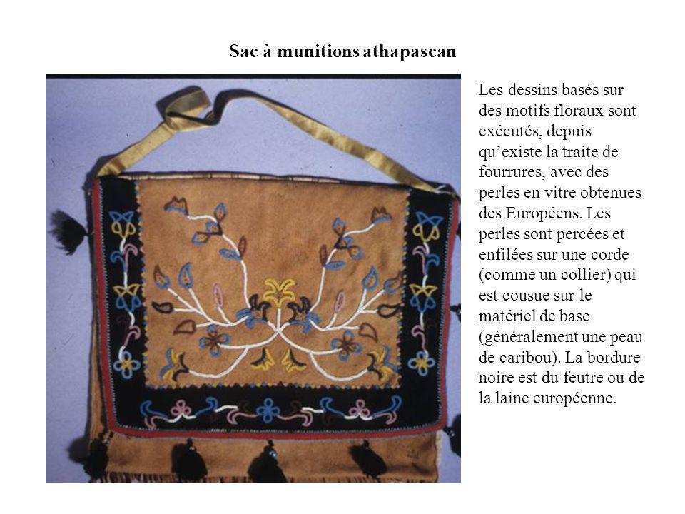 Manteau kutchin, style et décoration traditionnelle.