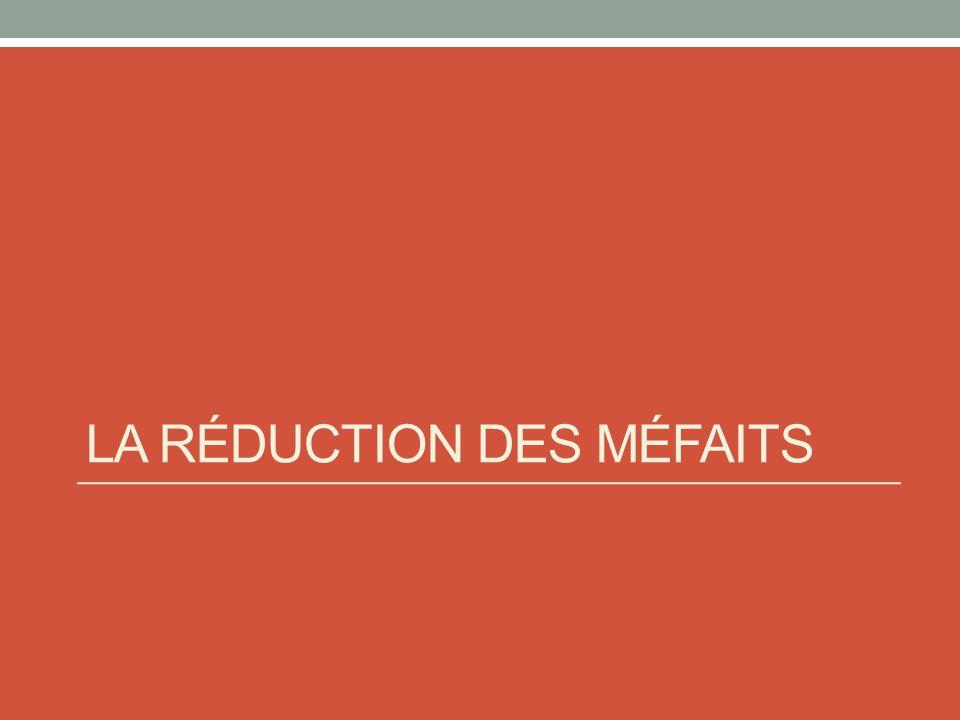 La mise en marché (suite) Impossible de nier que les drogues ont des effets néfastes sur la santé des utilisateurs Médicaments : contrôle de linformation pour favoriser les profits Publicité et promotion Restreindre laccès (ex : aux mineurs) « Le consommateur est libre de ses choix » : vraiment.