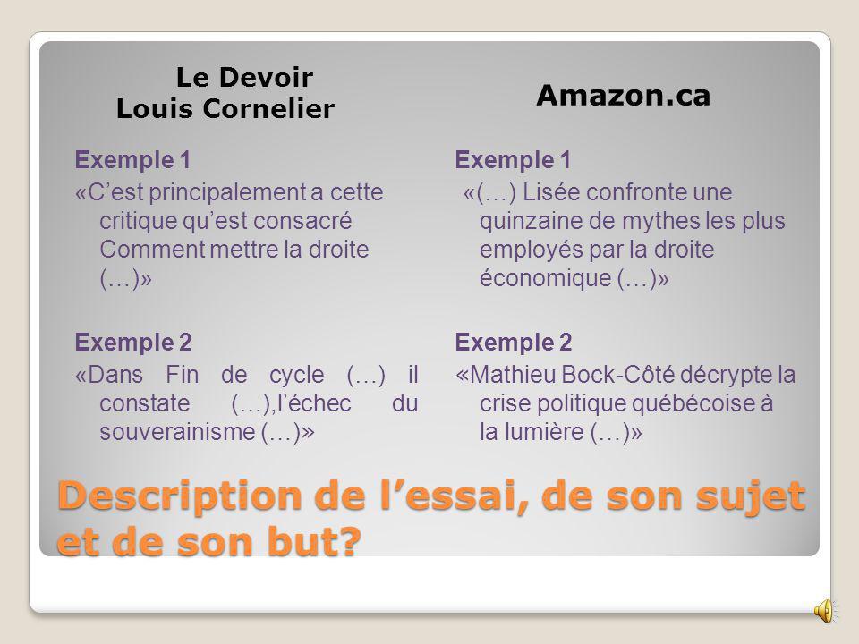 Éléments bibliographiques Le Devoir Louis Cornelie r Amazon.ca Na pas le nombre de page