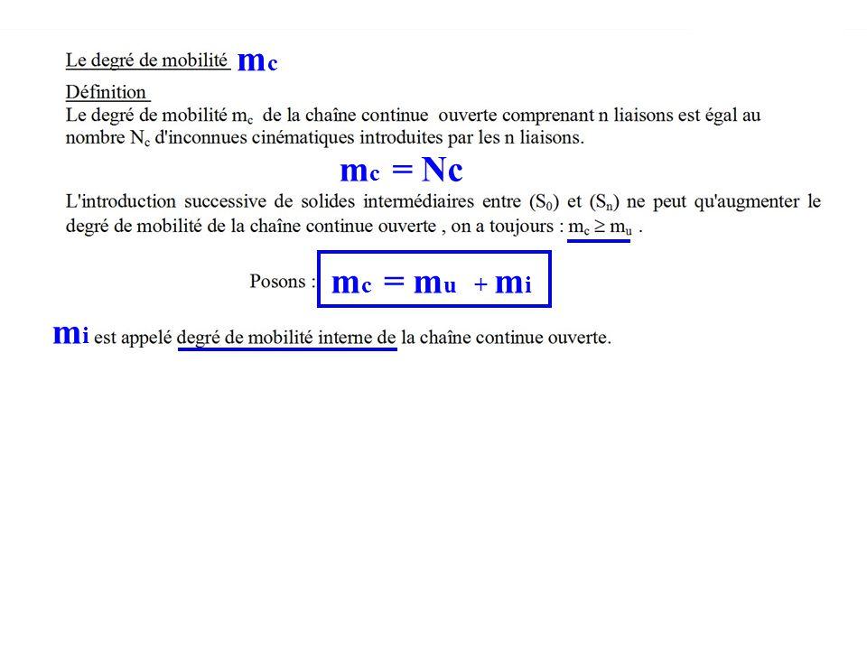mcmc m c = Nc m c = m u + m i mimi