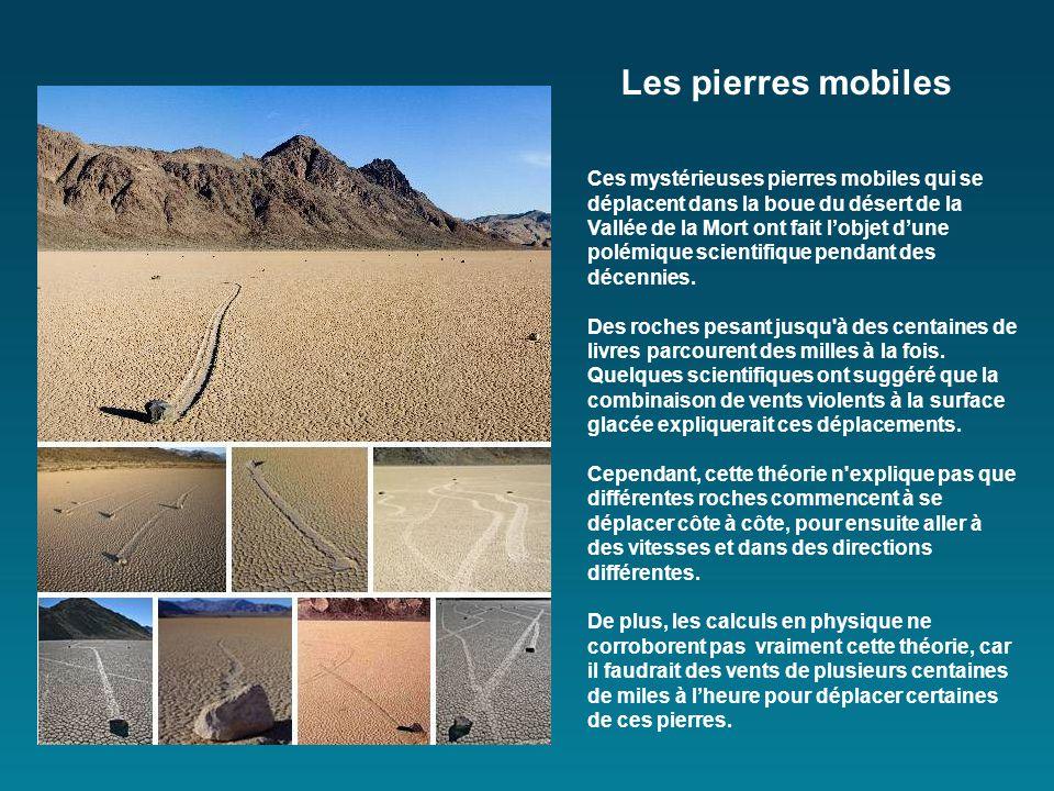 Ces mystérieuses pierres mobiles qui se déplacent dans la boue du désert de la Vallée de la Mort ont fait lobjet dune polémique scientifique pendant des décennies.