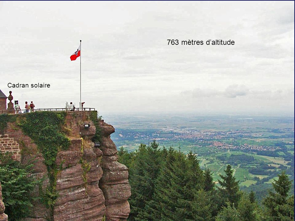 763 mètres daltitude Cadran solaire