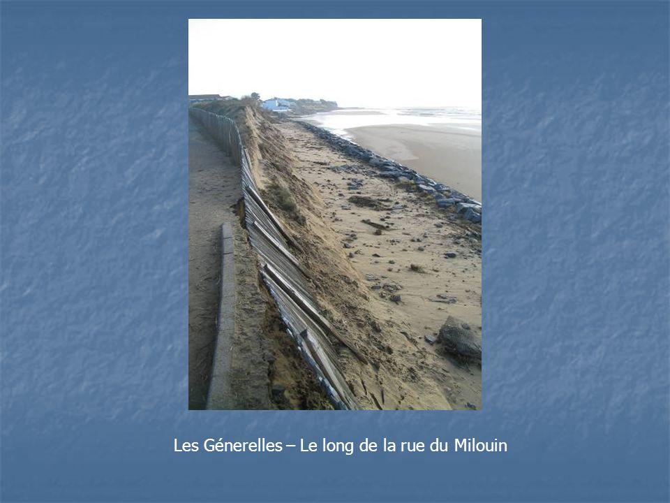 Les Génerelles – Le long de la rue du Milouin