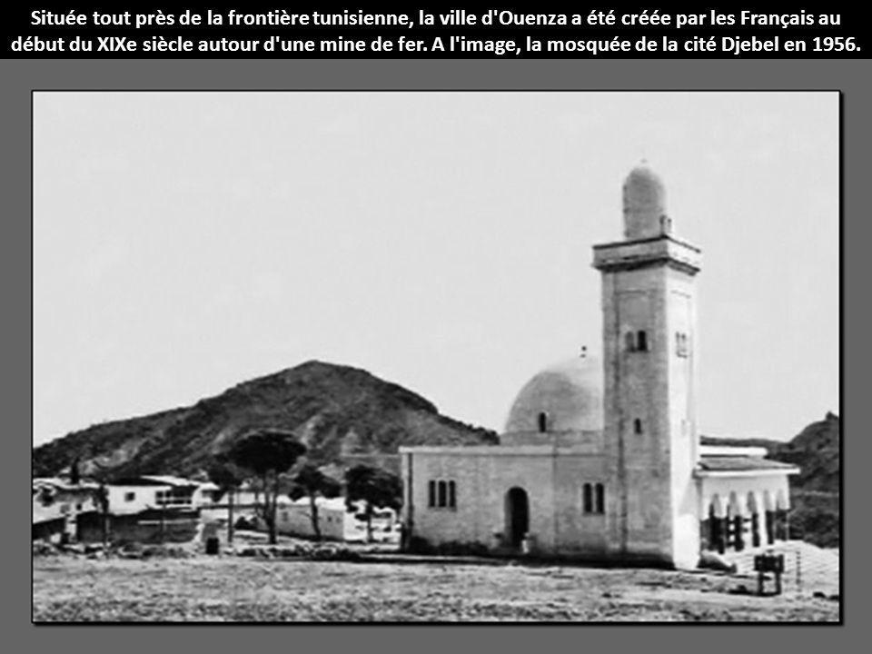 Située tout près de la frontière tunisienne, la ville d'Ouenza a été créée par les Français au début du XIXe siècle autour d'une mine de fer. A l'imag