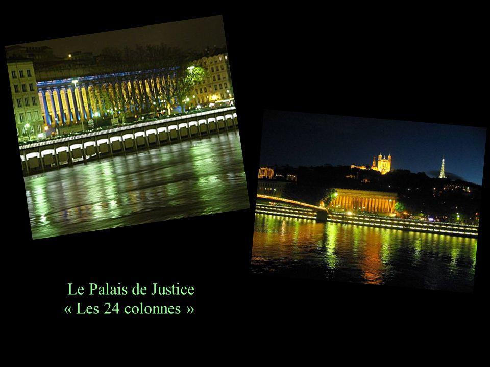 Retournons sur le quai. La Saône miroir du Palais de Justice