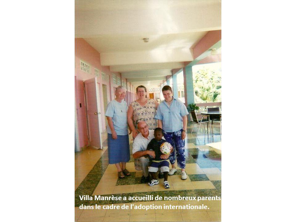 Villa Manrèse a accueilli de nombreux parents dans le cadre de l'adoption internationale.