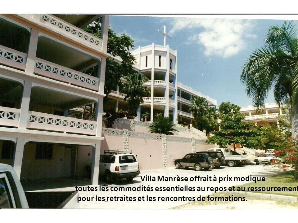 Villa Manrèse offrait à prix modique toutes les commodités essentielles au repos et au ressourcement pour les retraites et les rencontres de formation