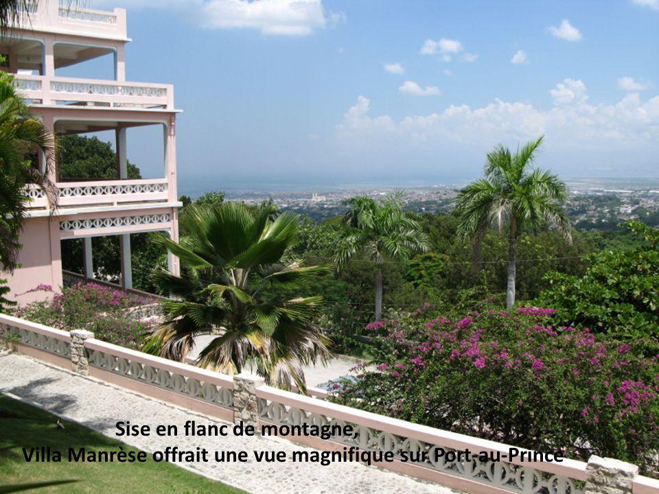 Villa Manrèse n avait pas d air climatisé, on pouvait aussi manquer d eau...