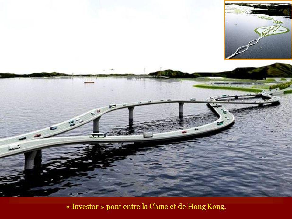 « Investor » pont entre la Chine et de Hong Kong.