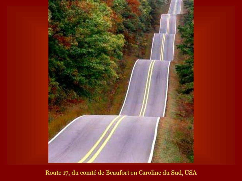Route 17, du comté de Beaufort en Caroline du Sud, USA