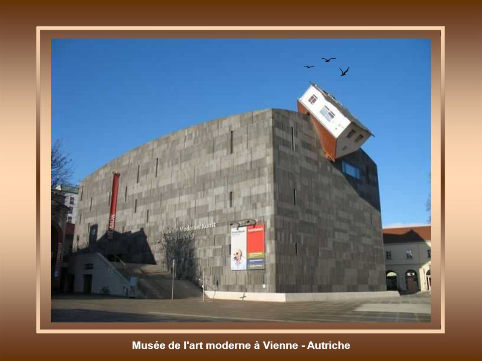 Musée de l art moderne à Vienne - Autriche