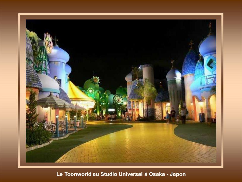 Le Toonworld au Studio Universal à Osaka - Japon