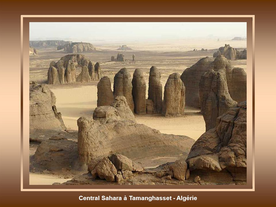 Central Sahara à Tamanghasset - Algérie