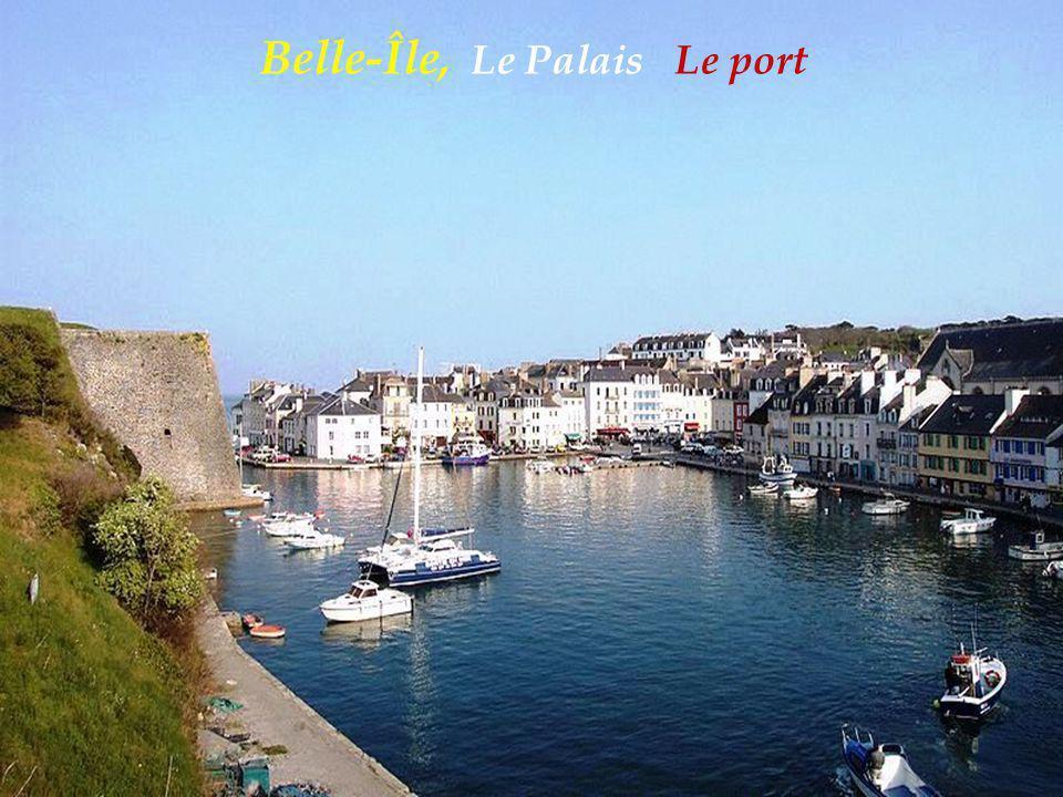 Belle-Île, Le Palais Le port