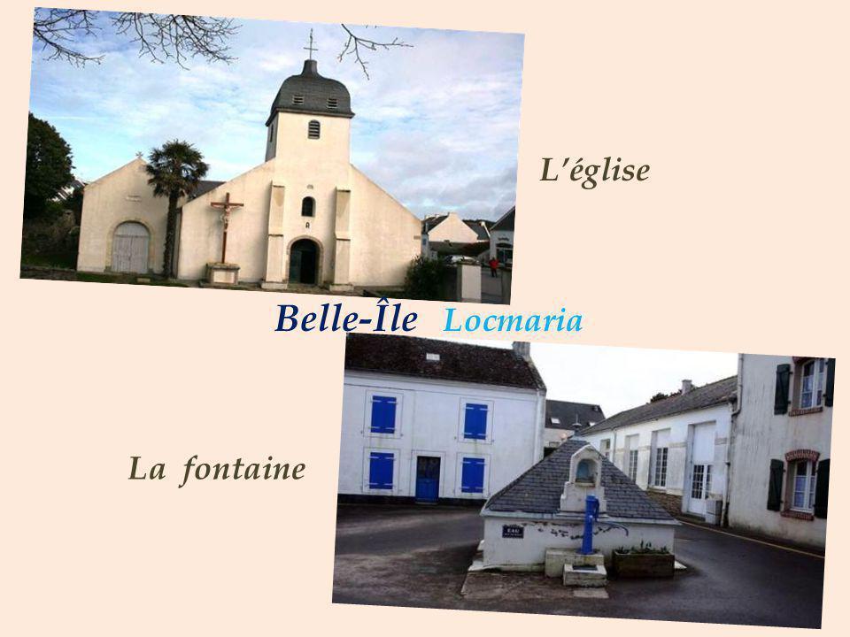 Belle-Île Locmaria Léglise La fontaine